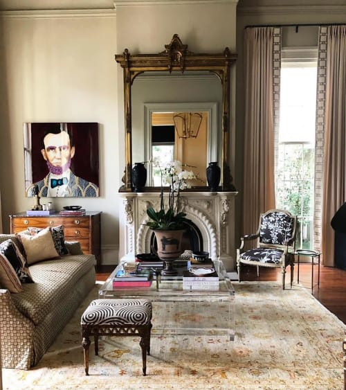 Paintings by Ashley Longshore seen at Private Residence, New Orleans - Lincoln