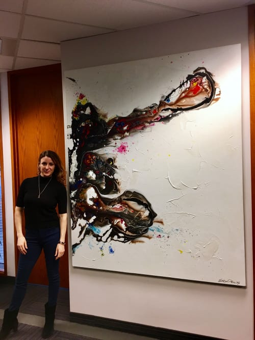 Paintings by Sarah Phelps Artist seen at Toronto Office, Toronto - Abstract Painting