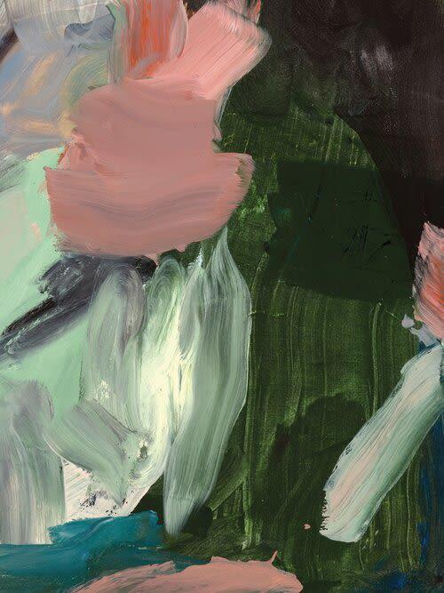 Paintings by maja dlugolecki - last rose of summer - linen print