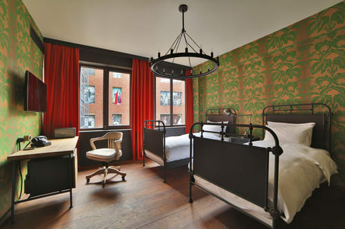 Wallpaper by Paper Mills, Inc. seen at Rooms Hotel Tbilisi, Tbilisi - Olivia - Picholine