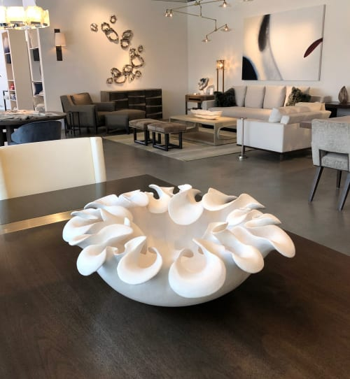 Sculptures by Ron Dier Design seen at Thomas Lavin, Laguna Niguel - The Corin