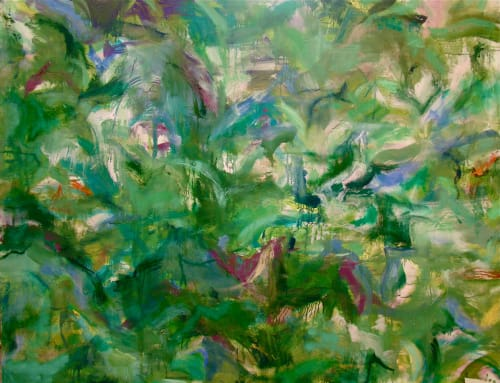 Paintings by Amadea Bailey at Private Residence, Brentwood, Los Angeles, CA, Los Angeles - Giverny