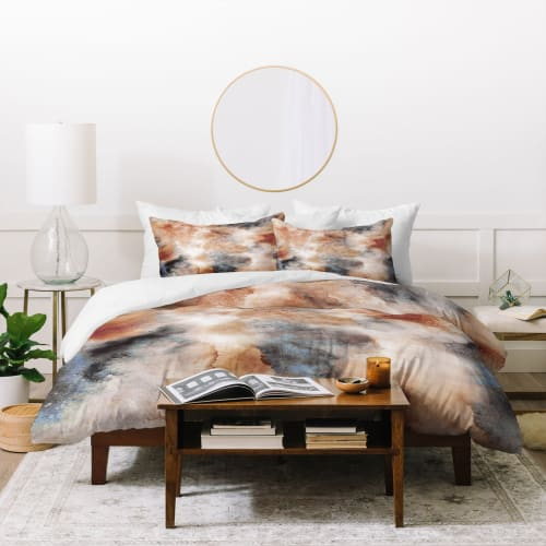 Linens & Bedding by Ninola Design seen at Deny Designs, Englewood - Smoky Watercolor Desert