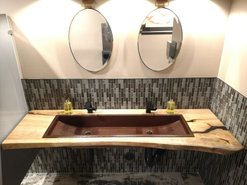 Furniture by Lumberlust Designs seen at 2700 E Old Tower Rd, Phoenix - Swift Aviation Jet Suite X