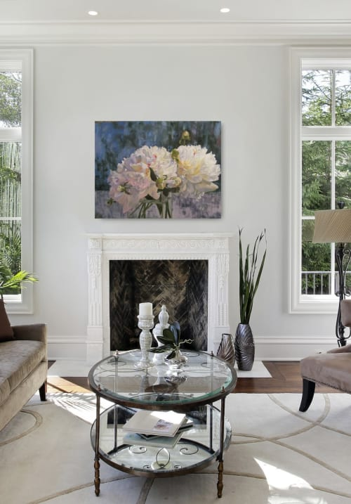 Paintings by Kimberley Cook Fine Art seen at Private Residence, Cochrane - Prints on Canvas or Fine Art Paper