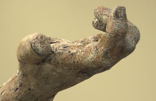 Sculptures by Andrew Ramiro Tirado seen at Holland Hall School, Tulsa - Lacuna