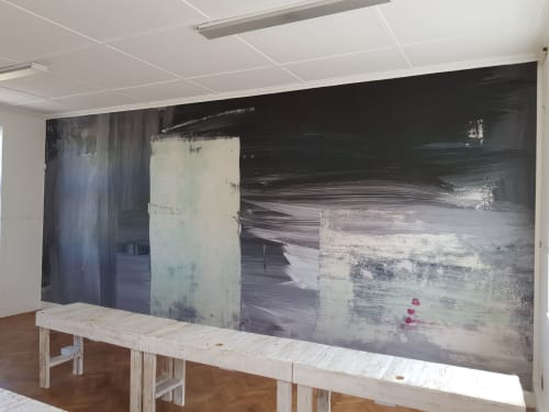 Murals by Donna Solovei seen at South Africa - Abstract wallpaper