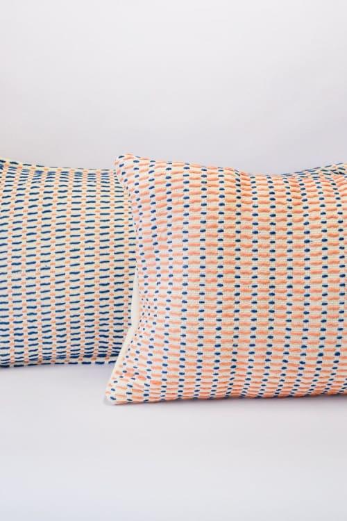 Pillows by Zuahaza by Tatiana seen at Creator's Studio, Bogotá - Iza Reversible Pillow