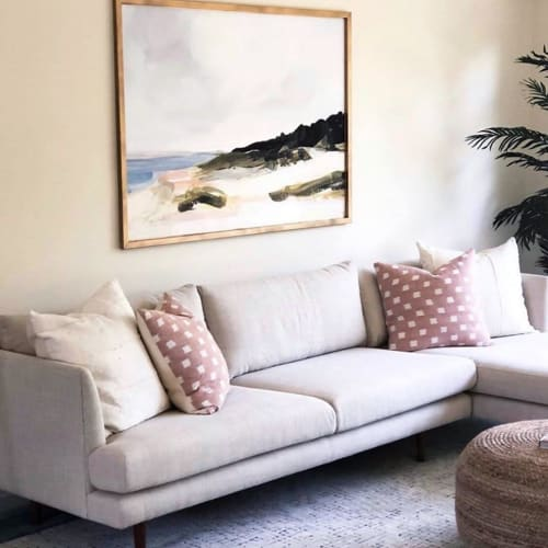 Paintings by Laurie Anne Art seen at Private Residence, Sacramento - MONTAUK