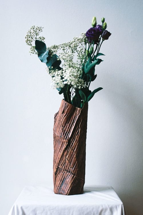 Vases & Vessels by Ray G Brown seen at Private Residence, London - Cardboard Ceramics Vase