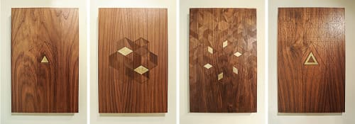 Wall Hangings by Heather Noddings seen at Private Residence, Portland - Untitled.