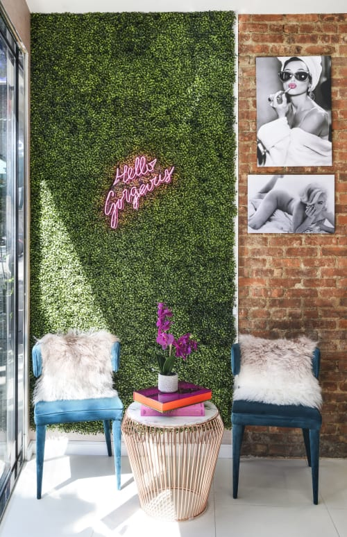 Interior Design by studioBIG seen at Glam Glow Med Spa, Queens - Glam Glow Med Spa