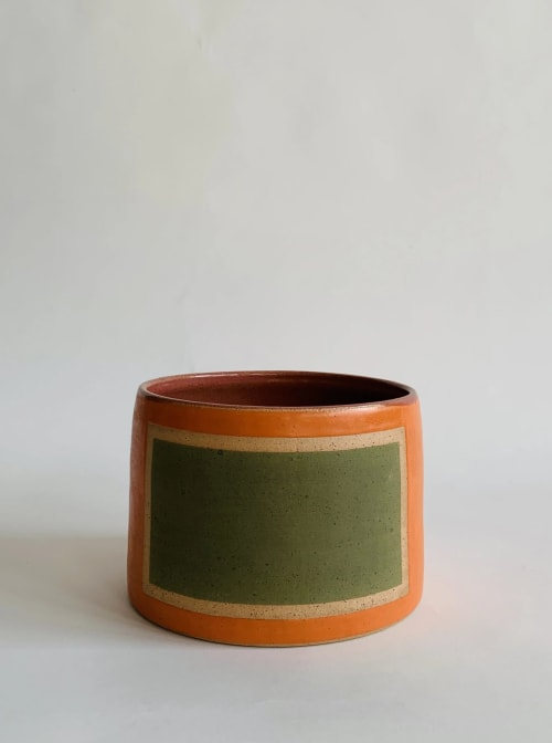 Vases & Vessels by Mineral Ceramics seen at Creator's Studio, Los Angeles - Frames Planters