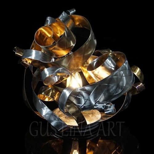 Lamps by Gus Lina Fine Art seen at Clearwater, Clearwater - Tabletop Light-Sculpture-GL-AA11