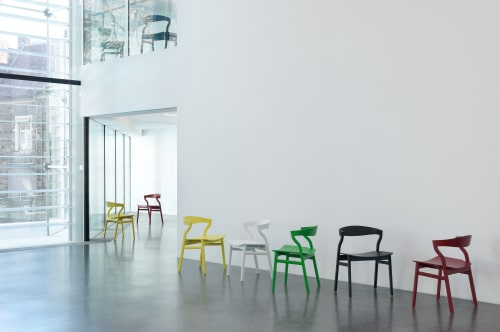 Chairs by Bedont seen at Stiftung Museion, Bozen - Kalea Chair