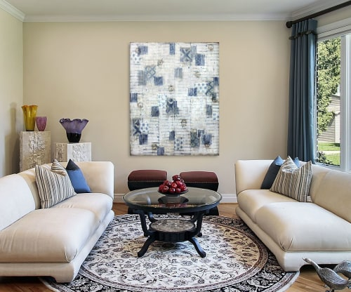 Paintings by Susan Stover seen at Private Residence - Mottainai