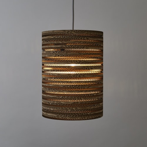Lamps by Tabitha Bargh seen at Jamie's Farm Lewes, Lewes - CartOn C2 Lampshade