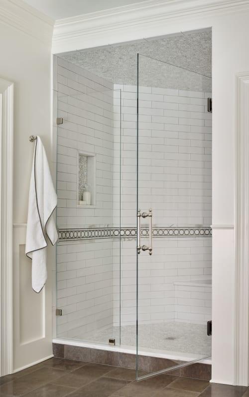 Tiles by Walker Zanger seen at Private Residence,Atlanta, Atlanta - Tiles