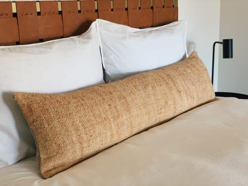 Pillows by HOME seen at Creator's Studio, Los Angeles - Extra Long Hemp Lumbar Pillow