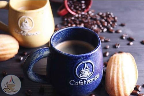 Cups by Lanelle Abueva-Fernando seen at Cafe France E.Rodriguez, Quezon City - Ceramic Mug