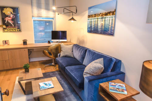 Private Residence - Bachelor Loft Tribeca, Homes, Interior Design