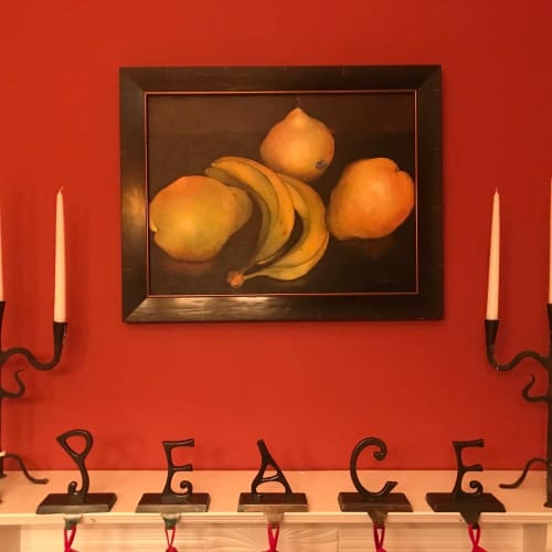 Paintings by Nancy Baker seen at Private Residence, Thomaston - An Appetite