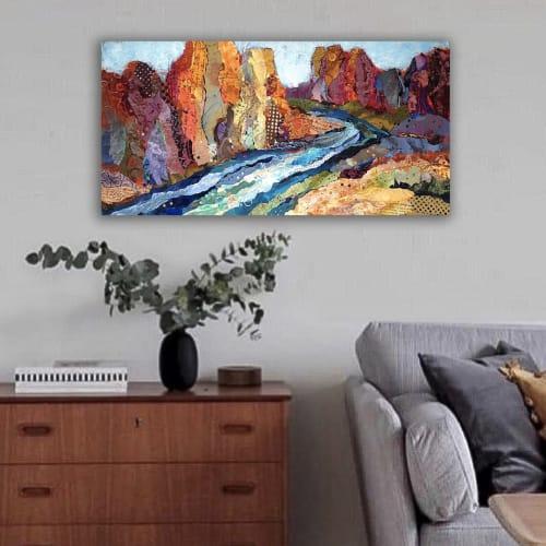 Paintings by Shelli Walters Studio seen at Creator's Studio, Bend - Gentle Stir Painting