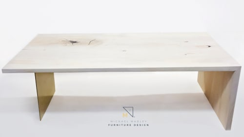 Tables by Michael Madley Design seen at Private Residence, Phoenix - Ginkgo Dining Table
