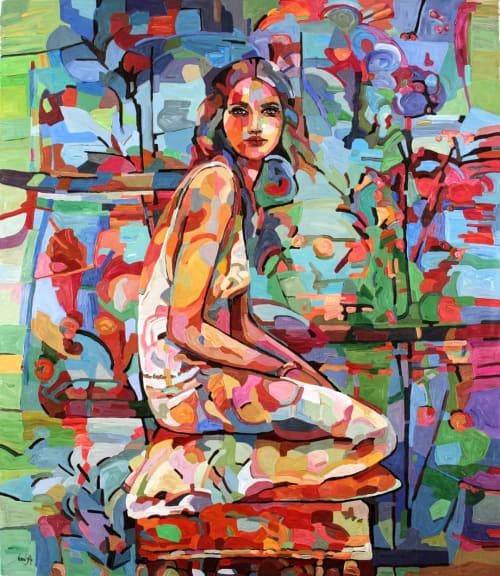 Paintings by Noemi Safir Artist - Tamarind