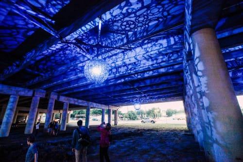Public Sculptures by Creative Machines seen at San Antonio, San Antonio - Ballroom Luminoso
