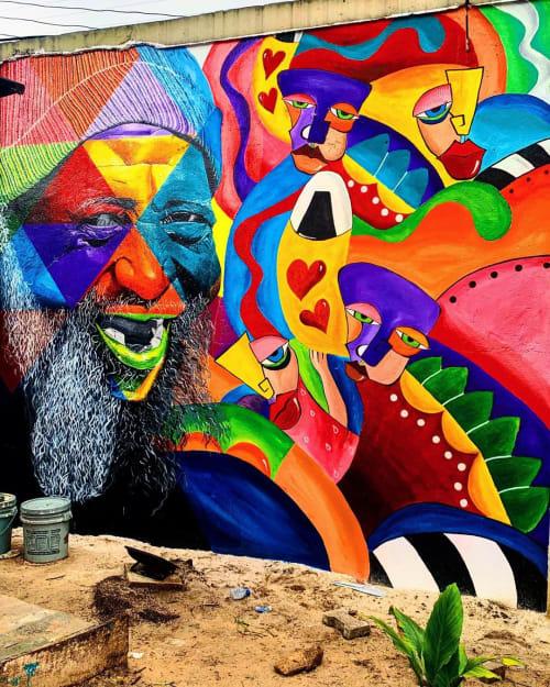 Cera Cerni - Murals and Street Murals