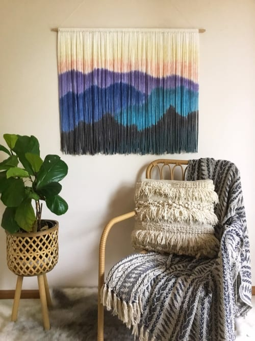 Wall Hangings by Wallflowers Hanging Art seen at Private Residence, Roanoke - BLUE RIDGE MOUNTAINS