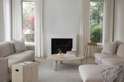 Tables by Ashley Botten Design seen at Private Residence, Toronto - the apple box
