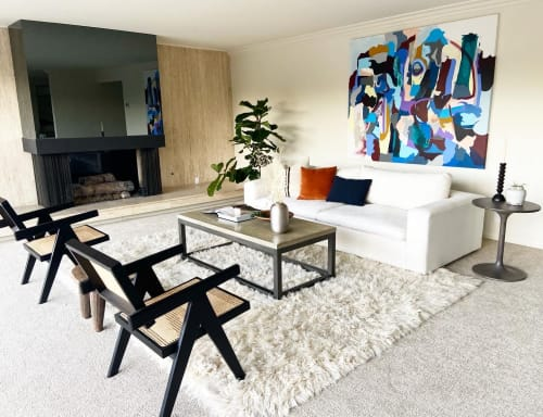 Paintings by Kori Gabs seen at Private Residence, San Diego - Earth Function