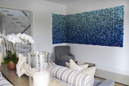 Art & Wall Decor by Carson Fox Studio seen at Private Residence - Sea Glass