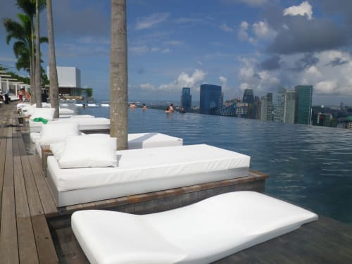 Furniture by GANDIABLASCO seen at Marina Bay Sands, Singapore - Hotel Marina Bay Outdoor Furniture