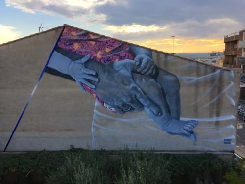 Erik Burke - Murals and Street Murals