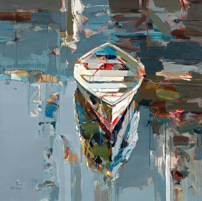 "Art & Wall Decor by YJ Contemporary seen at East Greenwich, East Greenwich - Josef Kote ""Moment Of Solitude"""