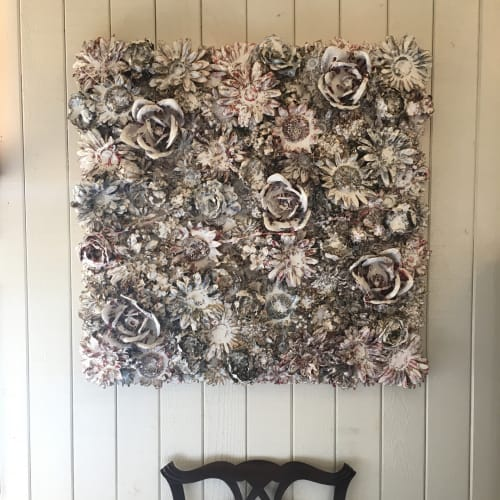 Art & Wall Decor by Kristina Grace seen at Private Residence, Newport Beach - Before The Fall