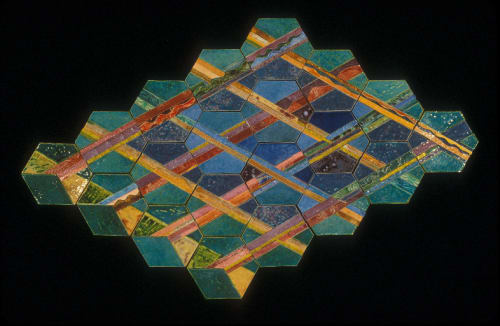Murals by Susan Tunick seen at Artist's Collection, New York, NY, New York - Blue Notes