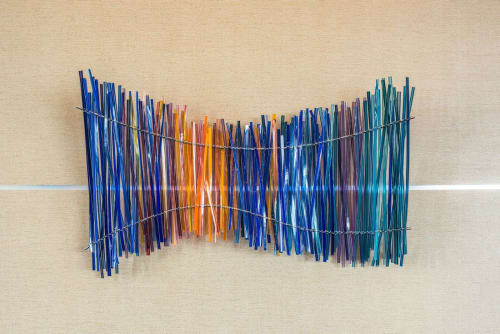 Sculptures by Carlyn Ray Designs seen at Renaissance Dallas Hotel, Dallas - Spark Of Color