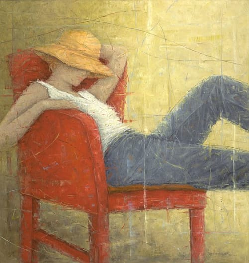 """Art & Wall Decor by YJ Contemporary Fine Art seen at YJ Contemporary Fine Art, East Greenwich - Erica Hopper """"Second Thoughts"""""""