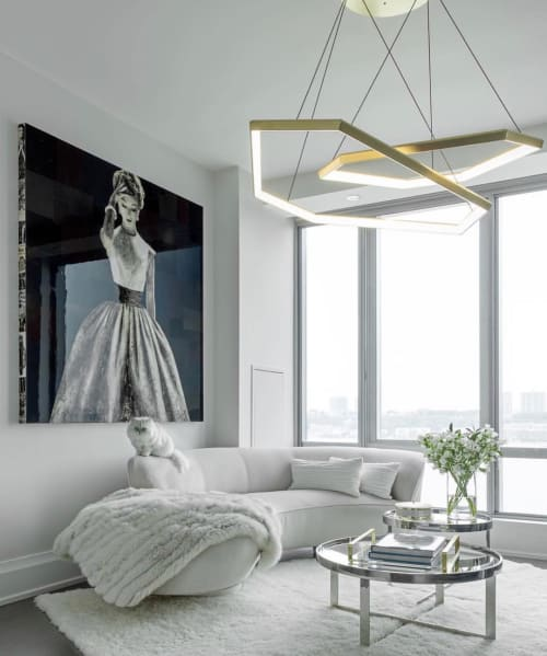 Chandeliers by Studio Endo seen at Private Residence, Upper West Side, New York - DITRI Chandelier