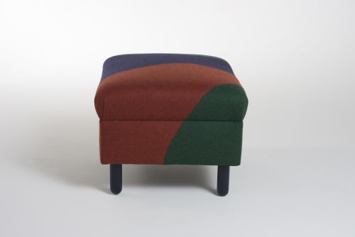 Benches & Ottomans by Sadie Dorchester seen at Private Residence, Saint Leonards - Pablo - Small rectangular footstool
