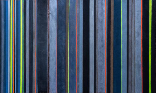 'FLAX + ALLOY II'   Paintings by Christina Twomey Art + Design