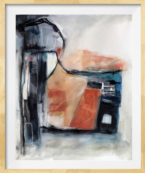 Paintings by Melanie Biehle seen at Seattle Art Source, Seattle - Explore/Expand
