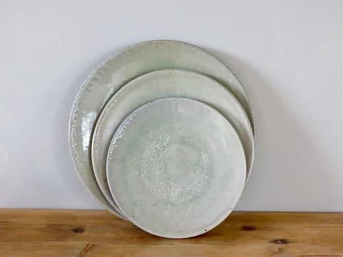Ceramic Plates by Knighton Mill at Bowerchalke Barn, Salisbury - Ceramic Plate
