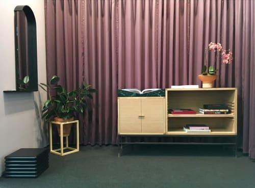 Furniture by Trey Jones Studio seen at Piers 92/94, New York - Trey Jones Studio Furniture Display
