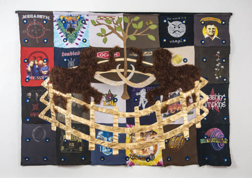 Wall Hangings by Joshua Goode seen at Joshua Goode Studio, Dallas - The Mammoth Tapestry