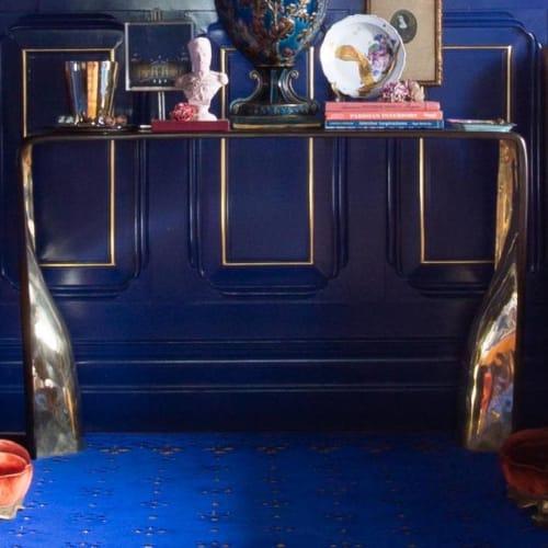 Furniture by Jonathan Rachman Design seen at SF Decorator Showcase 2019, San Francisco - Khetan Console